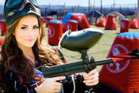 Nationwide Paintball - Paintballing for up to Ten - Save 94%