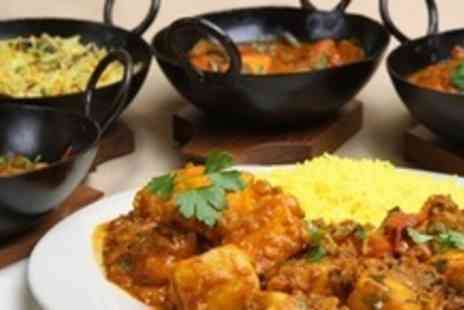 Eastern Spice - Two Course Indian Takeaway With Rice and Naan For Four - Save 71%