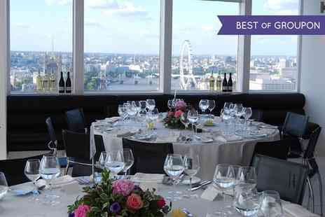 Altitude 360 - Afternoon Tea For Two with A Bottle or Free Flowing Champagne  - Save 70%