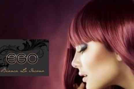 Ego Hair by Bianca Lo Iacono - Full Head Highlights or Colour With Cut, Conditioning Treatment and Finish - Save 61%