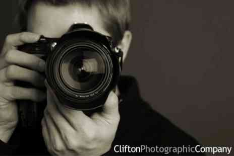 Clifton Photographic Company - Luxury Photo Shoot and Makeover Experience for Two £19 - Save 89%