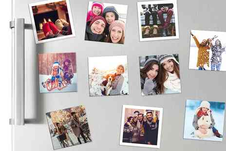 Photobook Shop - Pack of Personalised Photo Magnets  - Save 84%
