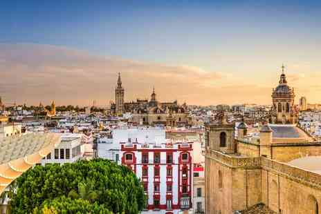 Hotel M A Sevilla Congresos  - Two to Four Nights stay in chic Spanish city with return flights Plus daily breakfast - Save 0%