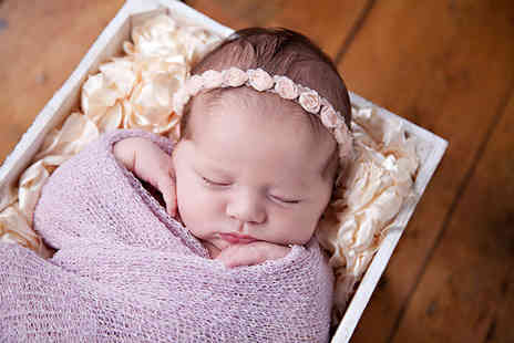 Dream World Photography - Three hour newborn baby photoshoot  - Save 91%
