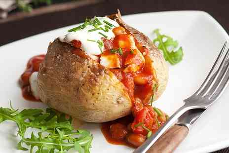 Vermillion Cafe - Baked Potato with a Choice of Filling and Soft Drink for One - Save 0%