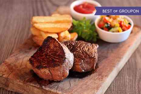 Donald Russell - Exclusive Dine for Two, Fillet Steak or Chateaubriand selections with Steak Knife - Save 59%