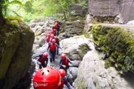 Go 4 It Activities Wales - Coasteering or Gorge Walking Experience For Two - Save 55%