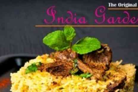 The Original India Garden - Two Courses of Indian Fare For Four - Save 61%