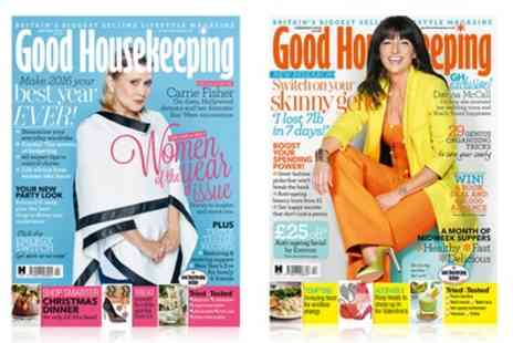 Hearst Magazines UK - 12 Months Good Housekeeping Magazine Subscription With Free Delivery  - Save 59%