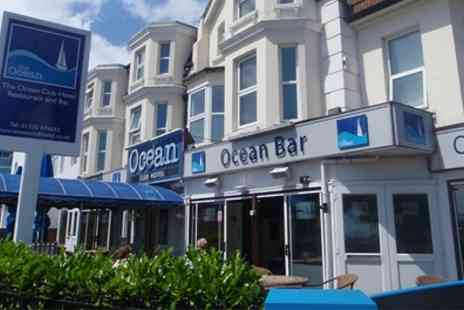 The Ocean Hotel  - One or Two Nights stay For Two With Breakfast  - Save 0%