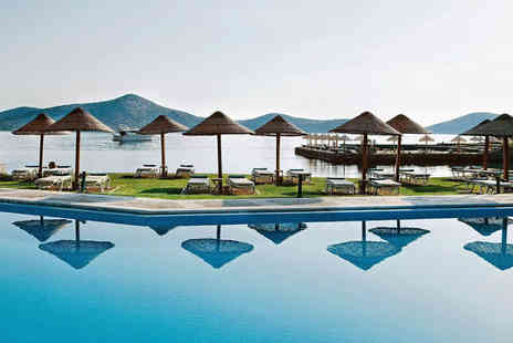 Porto Elounda Golf & Spa Resort - Seven nights stay in a Porto Sea View Room - Save 70%