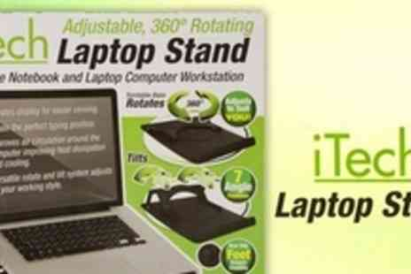 Wow eStores - Laptop Stands For Two - Save 74%