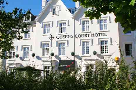 The Queens Court Hotel - Overnight Central Exeter Georgian Stay with  Six Course Dinner - Save 41%