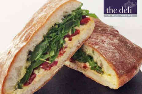The Deli in Boldmere - Takeaway Lunch - Save 0%