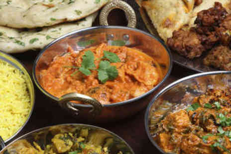 Balti King - Two Course Indian Meal for Two with Sides - Save 69%