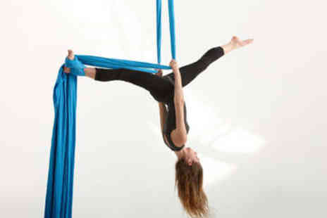 Aerial Active - Aerial Silks Fitness Class - Save 50%