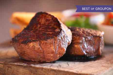Donald Russell - Premium Steak Selection With Optional Steak Knife Gift Set  - Save 60%