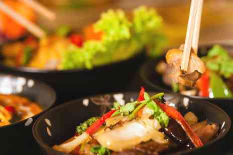 Tuk Tuk Asian Bar - Asian Fusion Meal with Prosecco for Two  - Save 58%