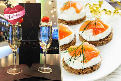 The Hilton Hotel - Bottle of Prosecco and canapes for two  - Save 68%