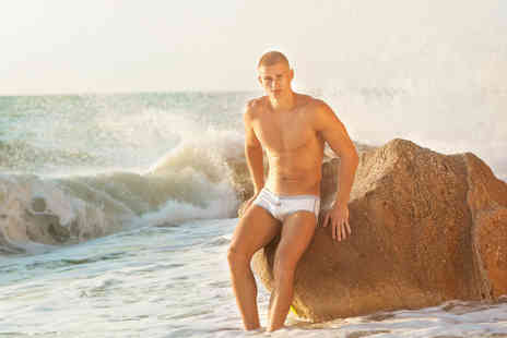 Beauty & Shine - Session of mens intimate waxing  - Save 52%