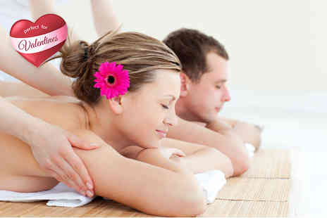 Brown Sugar Beauty and Tanning  -   90 minute Valentines couples massage and facial including a glass of bubbly each   - Save 74%