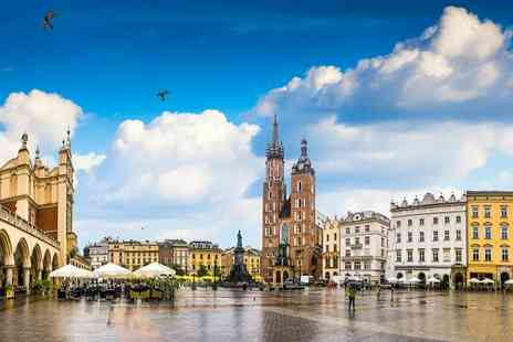Yarden Hotel - Two, Three or Four Nights stay in the heart of Krakow with flights and breakfast - Save 0%