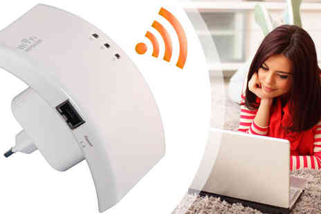 HK J and Y International Trading - Wireless Wi-Fi Repeater - Save 60%