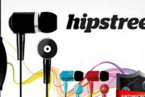 Hipstreet - One Pairs of Noise Isolating Anti Bacterial Earphones - Save 60%