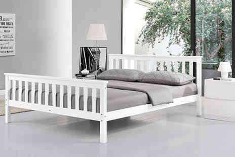Wowcher Direct - Prestbury white double bed - Save 57%