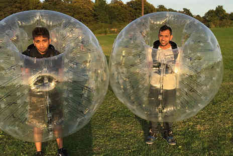 Zorb Strike - One hour Zorb football experience for up to eight - Save 59%