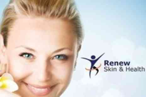 Renew Skin and Health Clinic - Towards Choice of Skin Revitalising Treatments Such as Glycolic Peels - Save 72%