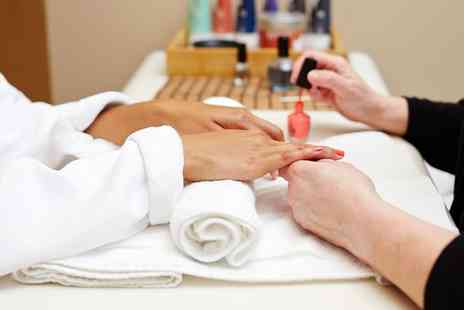 Beauty Lounge - Shellac Manicure, Pedicure or Both  - Save 61%
