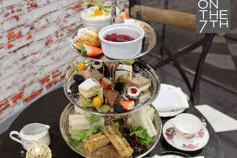 On the 7th - Afternoon Tea for Two - Save 44%