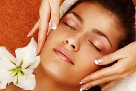 Marias Indulge - Back, Head and Shoulder Massage Plus Facial - Save 55%