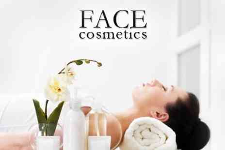 FACE Cosmetics - Full Body Massage, Indian Head Massage and Facial for £24 - Save 73%