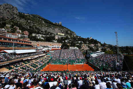 Monte Carlo Rolex Masters Tennis - Three nights Stay in a Deluxe Lateral Sea View Room - Save 30%