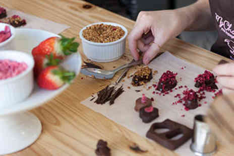 Luxury Chocolate Making - Luxury Chocolate Making for Two with Bubbly - Save 40%