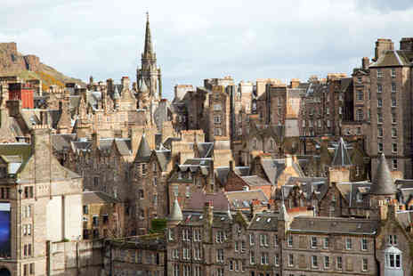 Jetline Holidays - Two or Three Night Break in Edinburgh with Flights - Save 54%