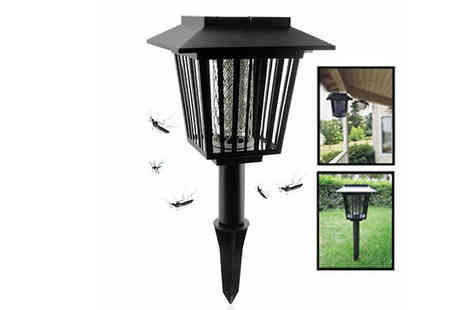 Rose River - Solar Powered Pest Killer LED Light - Save 57%