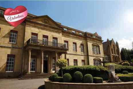Shrigley Hall Hotel Beauty - Three course meal for two including a glass of Champagne each - Save 51%