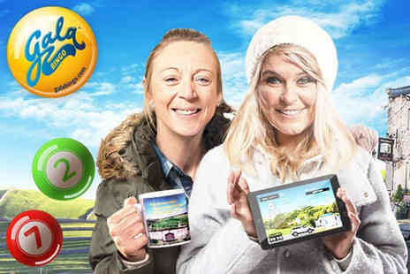 Gala Interactive  - £5 for £45 Gala Bingo credit to spend online  - Save 89%