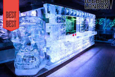 ICEBAR LONDON - Icebar London Entry, Cocktail, and Three Course Meal - Save 0%