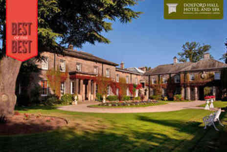 Doxford Hall Hotel & Spa - Spa Day with Two Treatments and Two Course Lunch - Save 53%