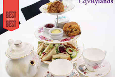 Cafe Rylands - Afternoon Tea for Two - Save 0%