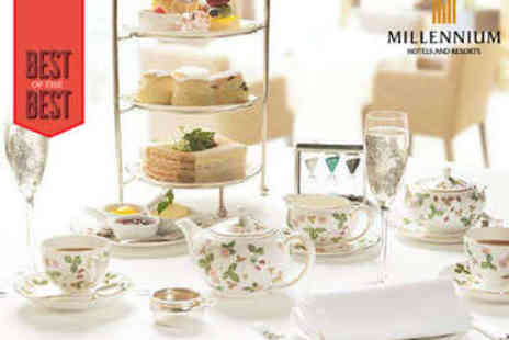 Copthorne Hotel  - Sparkling Afternoon Tea for Two - Save 52%