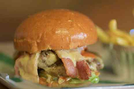 FEED - Burger or Hot Dog with Fries and Beer for Two  - Save 56%