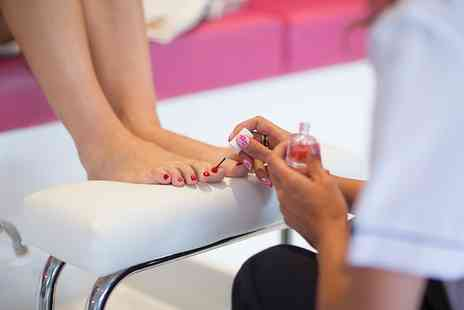 Distinct Boutique - Gel Manicure, Pedicure or Both - Save 50%