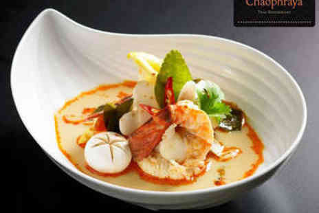 Chaophraya - Two Course Lunch with Prosecco for Two - Save 0%