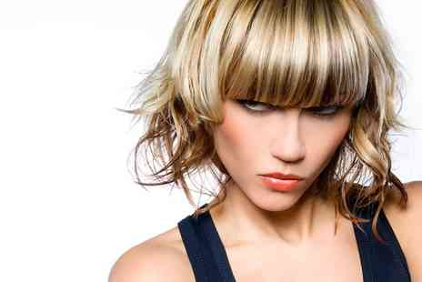 Remix Cuts & Colours - Half Head of Highlights With Wash, Cut Plus Argan Oil Treatment - Save 60%
