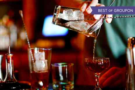 Lanes of London - Two Hour Cocktail Masterclass with Canapes for One - Save 51%